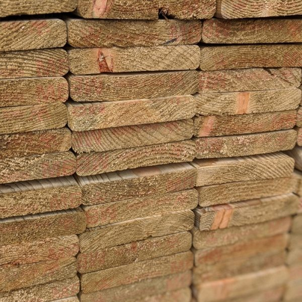 Our 94mm wide pressure-treated slats are ideal for creating bespoke fence panels, screens and garden furniture