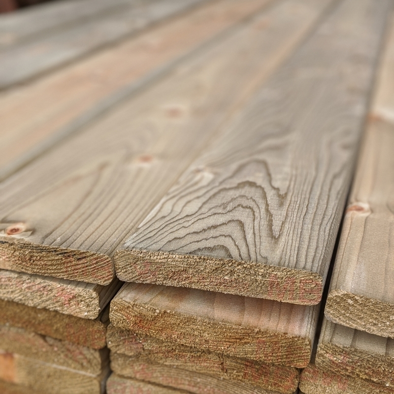 Our wide pressure treated slats are ideal for use on all renovation projects