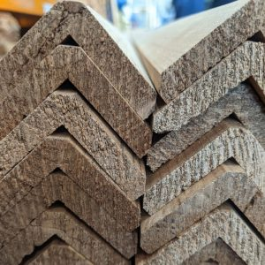 The Thermowood corner trims are a great way to finish off your cladding or fencing project.