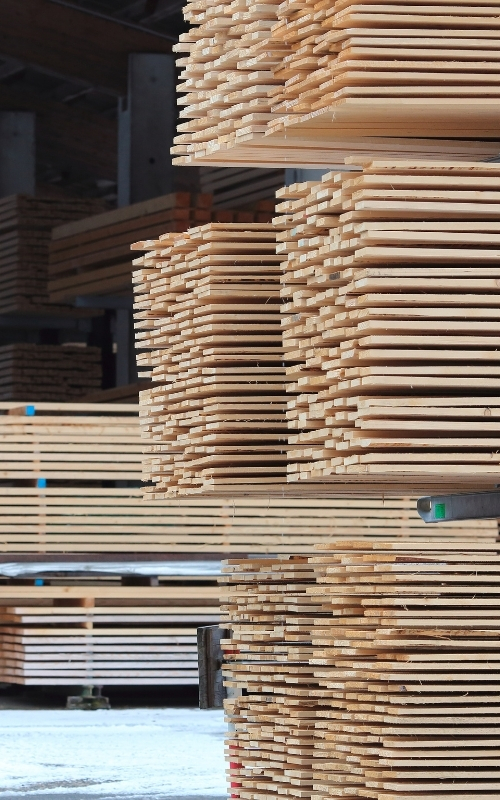 COVID-19 has caused timber prices to soar due to high-demand