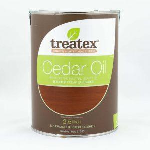Treatex cedar oil is ideal for increasing the lifespan of your cedar fence panel.